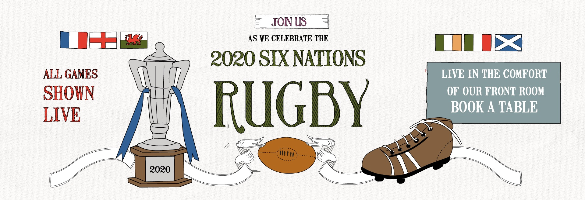 6 Nations Live at Notting Hill