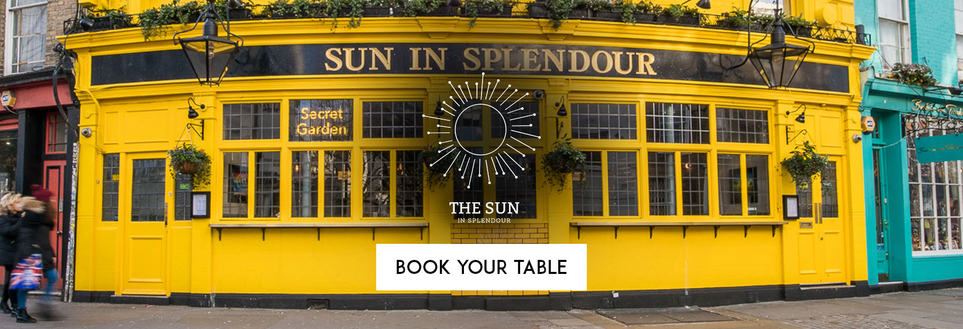 Book Your Table at The Sun In Splendour